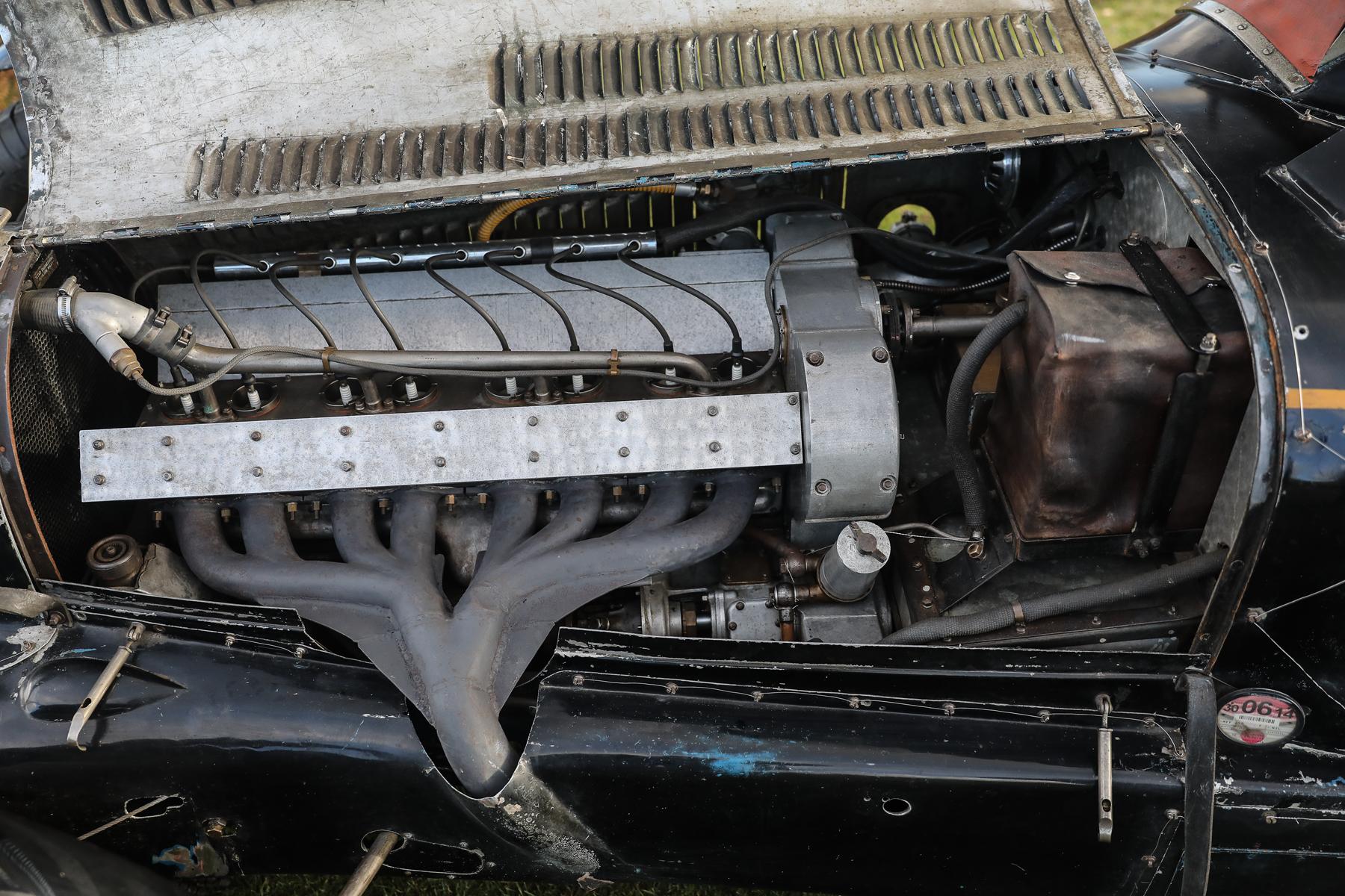 1934 Bugatti Type 59 Sports engine