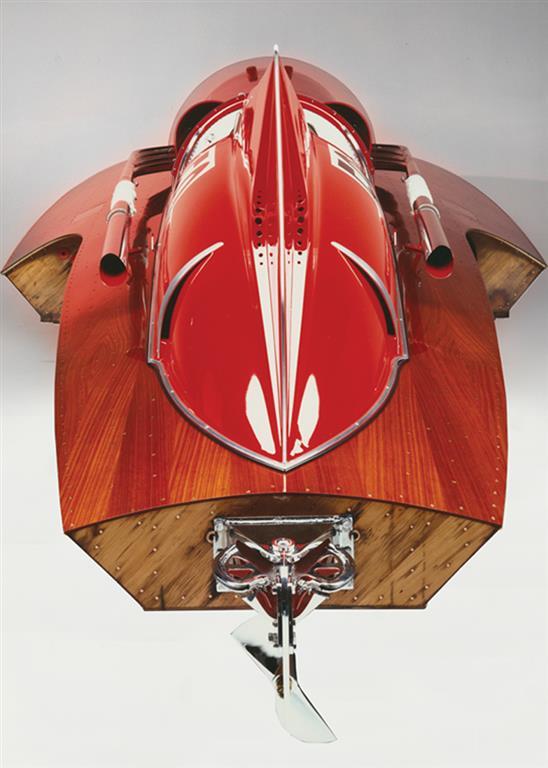 1952 Ferrari Arno XI Racing Boat rear
