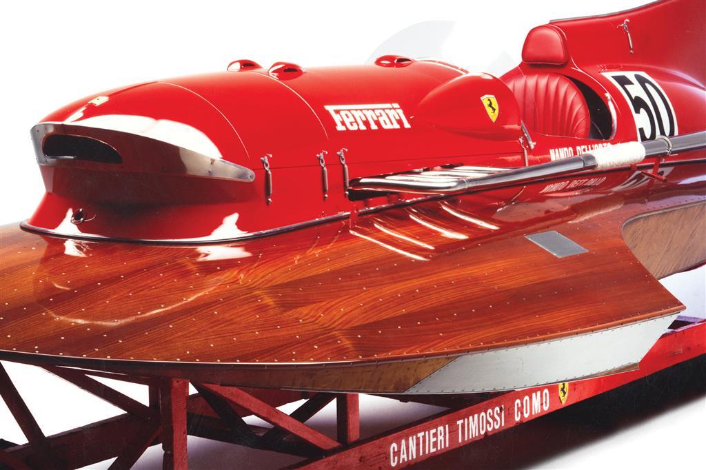 1952 Ferrari Arno XI Racing Boat front hull