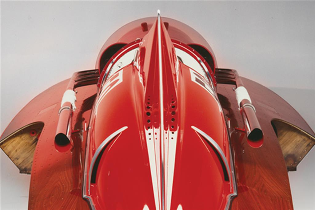 1952 Ferrari Arno XI Racing Boat rear fin