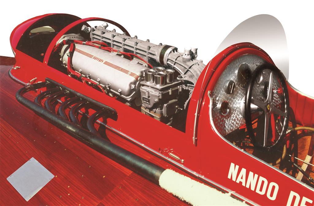 1952 Ferrari Arno XI Racing Boat engine
