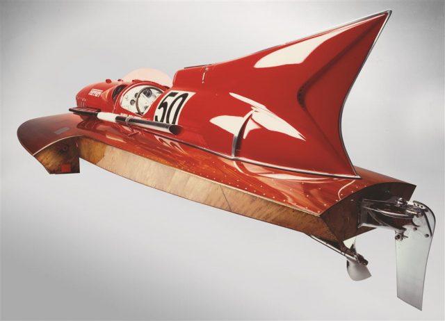 1952 Ferrari Arno XI Racing Boat rear three-quarter