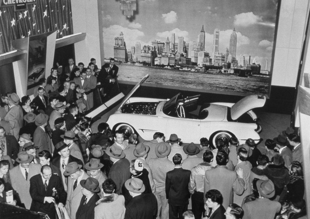 1953 Chevrolet Corvette Motorama Show Car in period