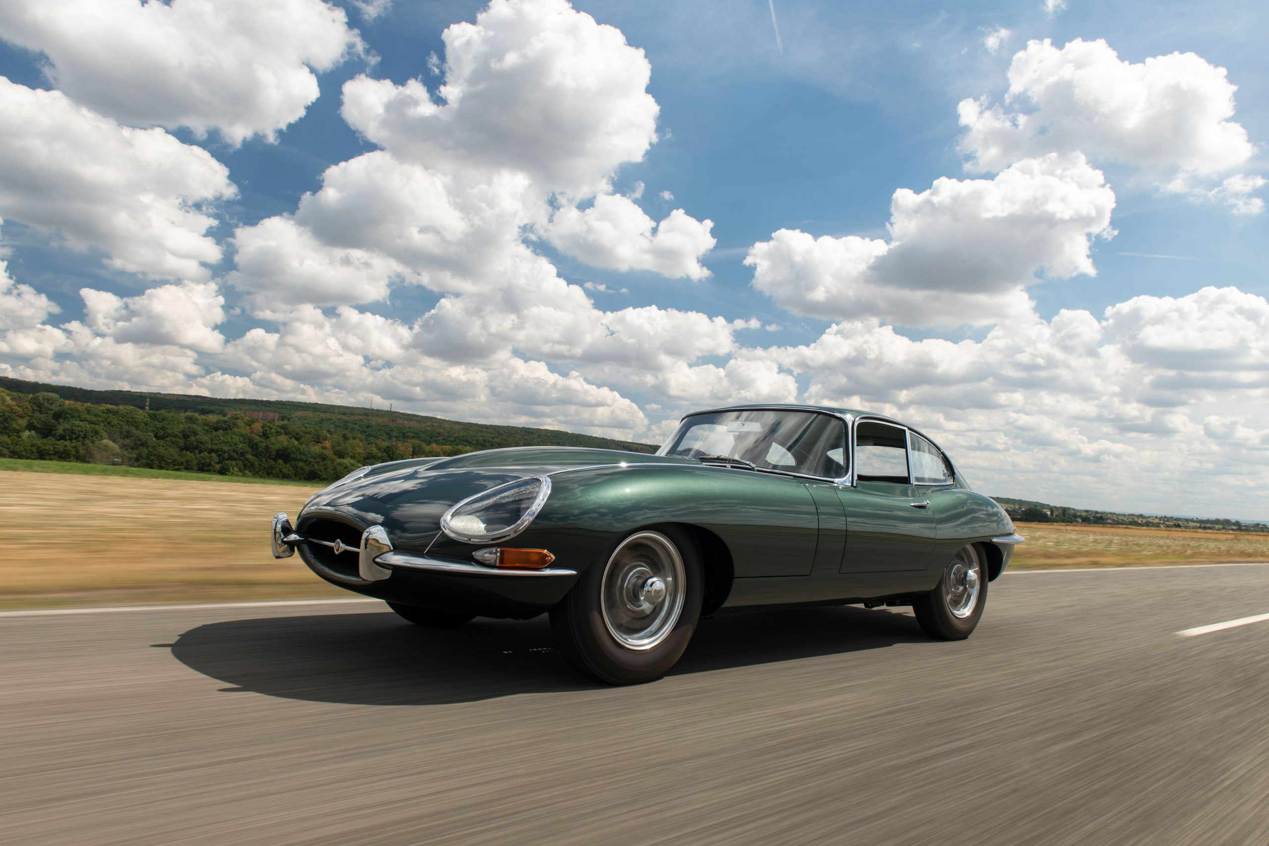 This 1961 Jaguar E-Type hides unique factory upgrades and a fascinating history