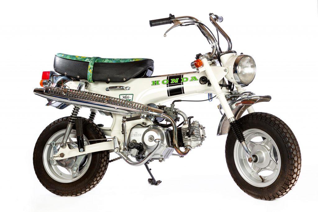 1975 Honda ST50 White Lady
