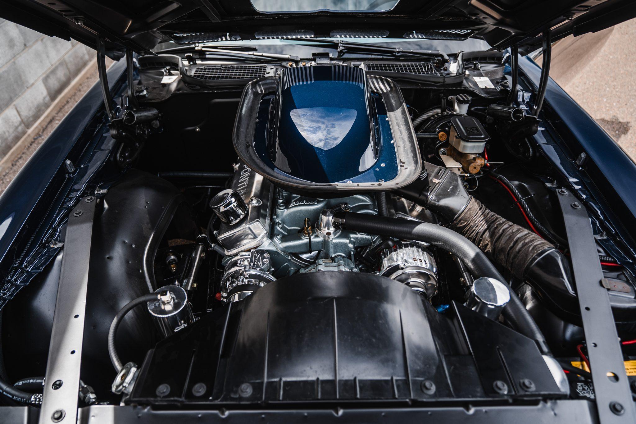 1975 Pontiac Trans Am Engine