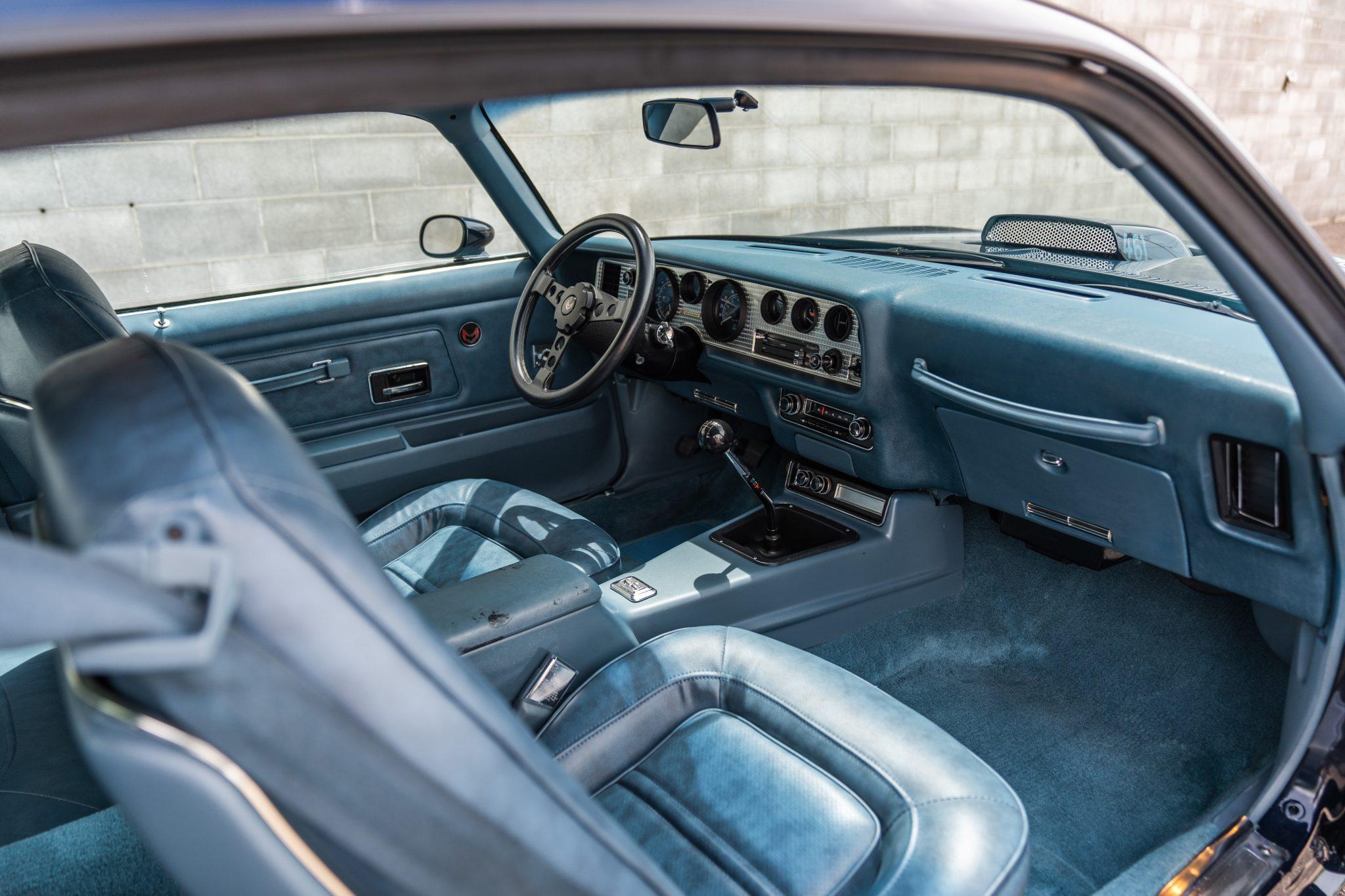1975 Pontiac Trans Am Interior