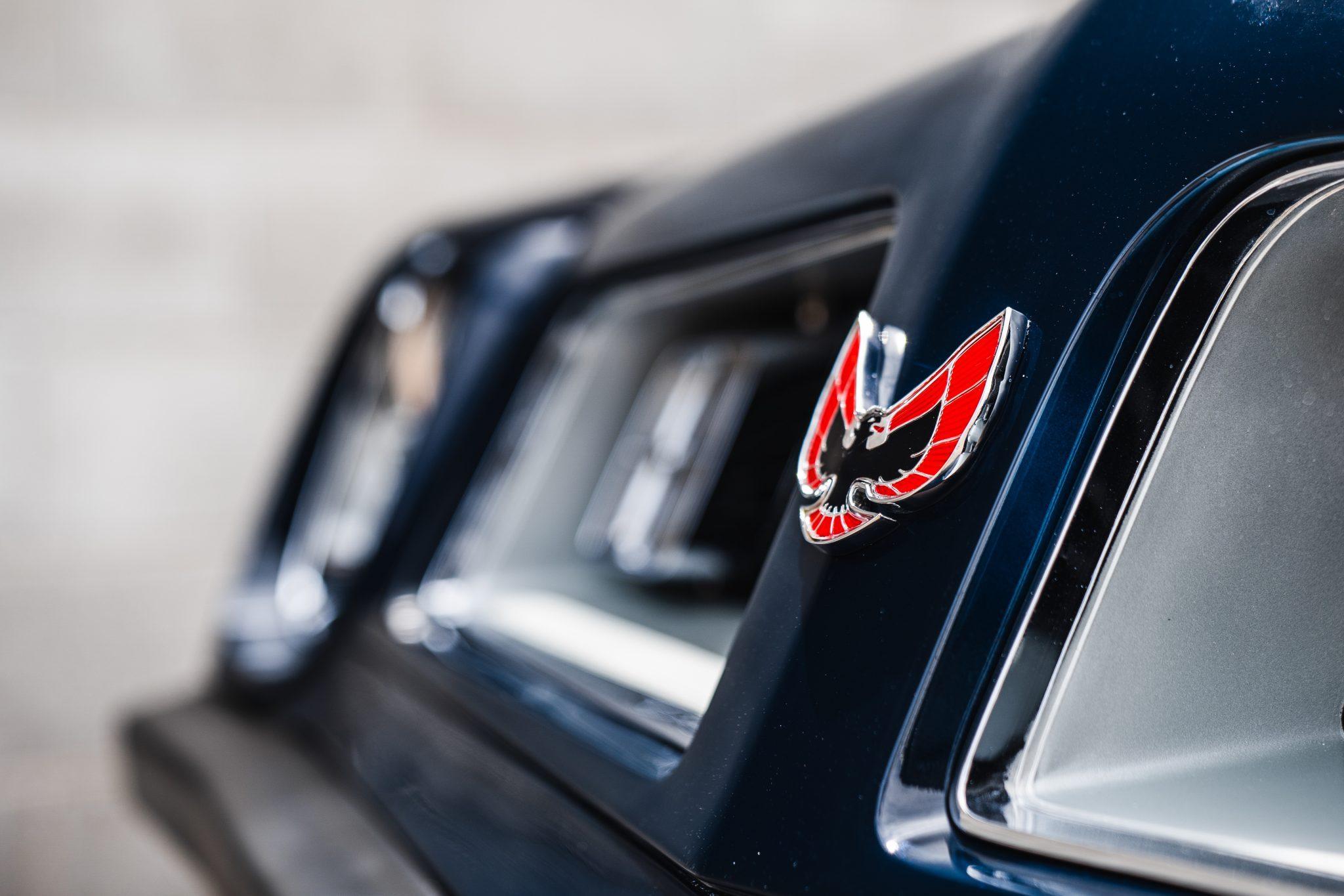 1975 Pontiac Trans Am Nose Emblem