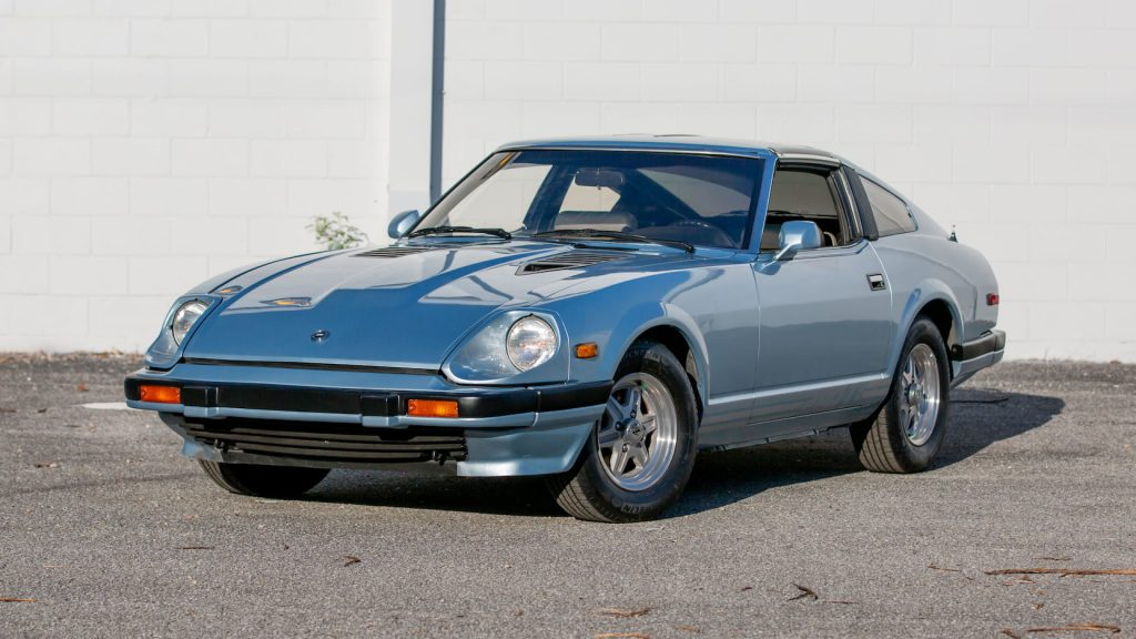 1983 Datsun 280ZX front three-quarter