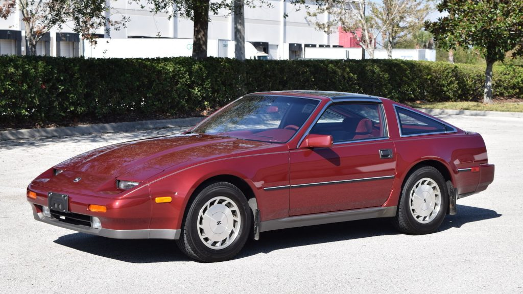 1987 Nissan 300ZX front three-quarter