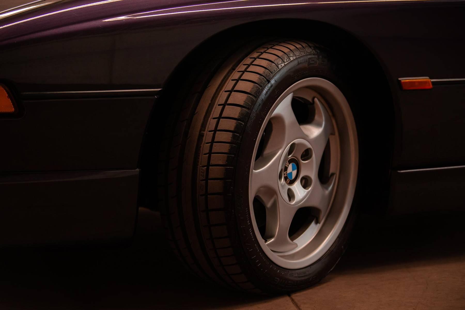 1995 BMW 850CSi wheel