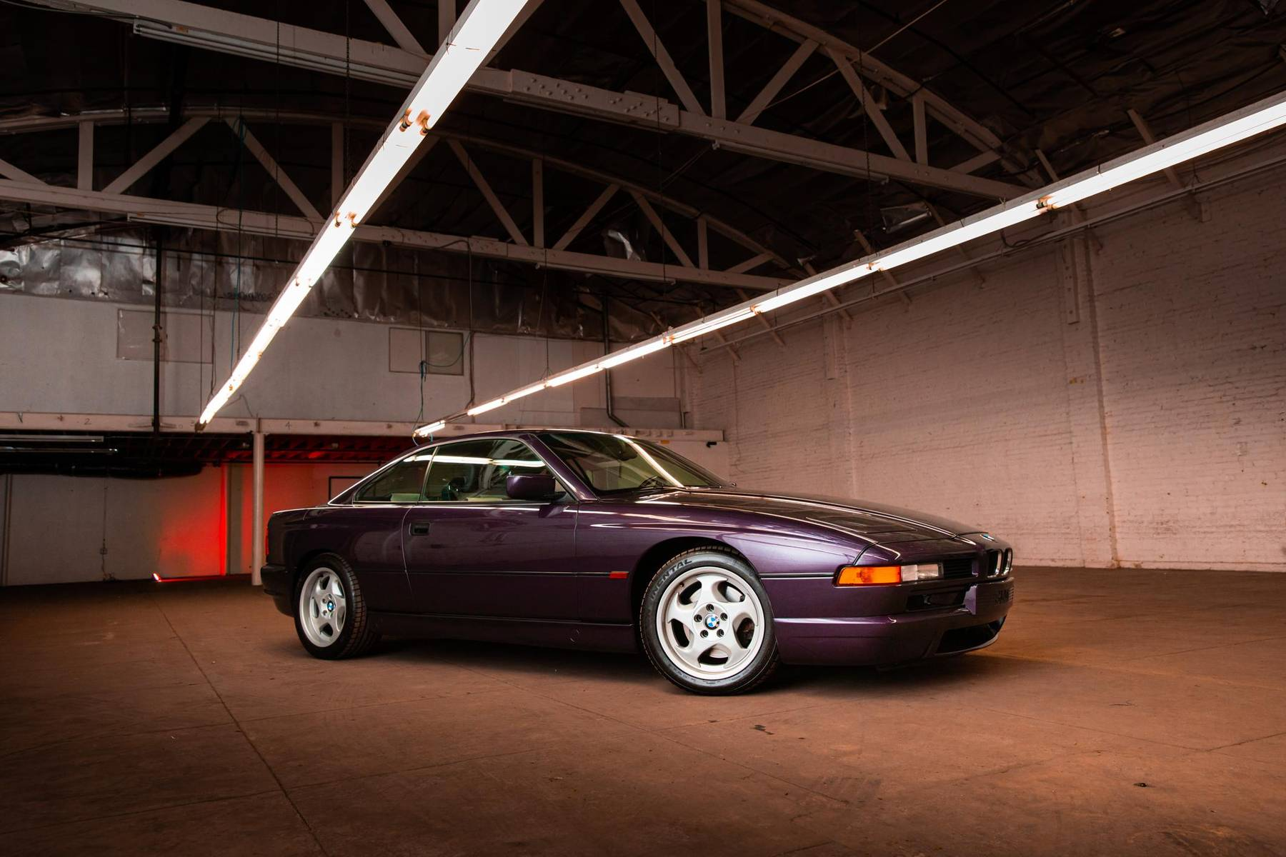 1995 BMW 850CSi front three-quarter