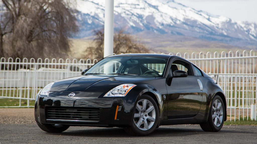 2003 Nissan 350Z front three-quarter