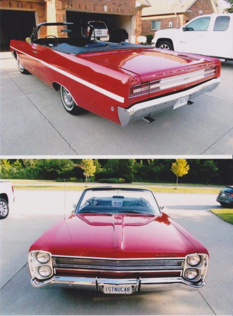 1968 Plymouth Fury convertible