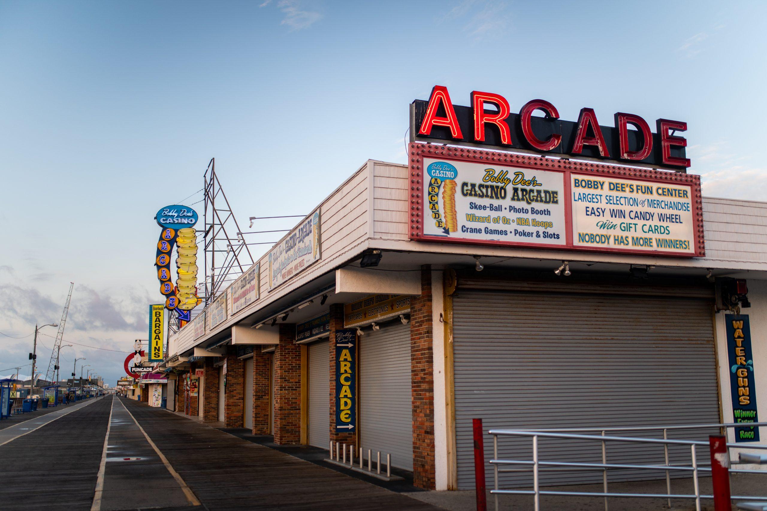 jersey shore arcade