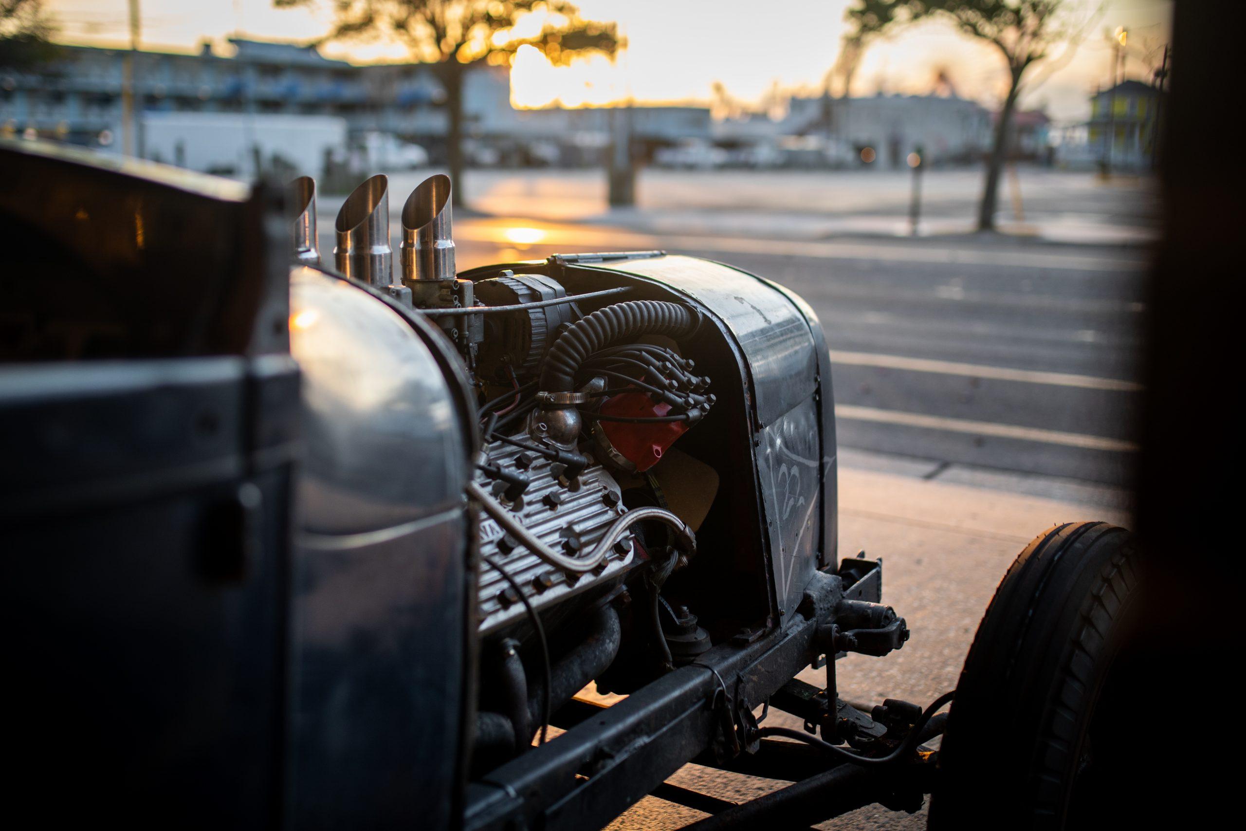 hot rod racer engine