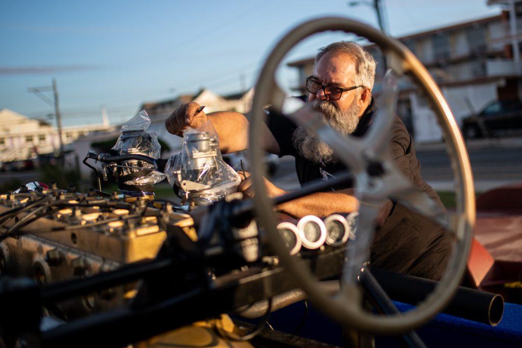 engine maintenance hot rod racer