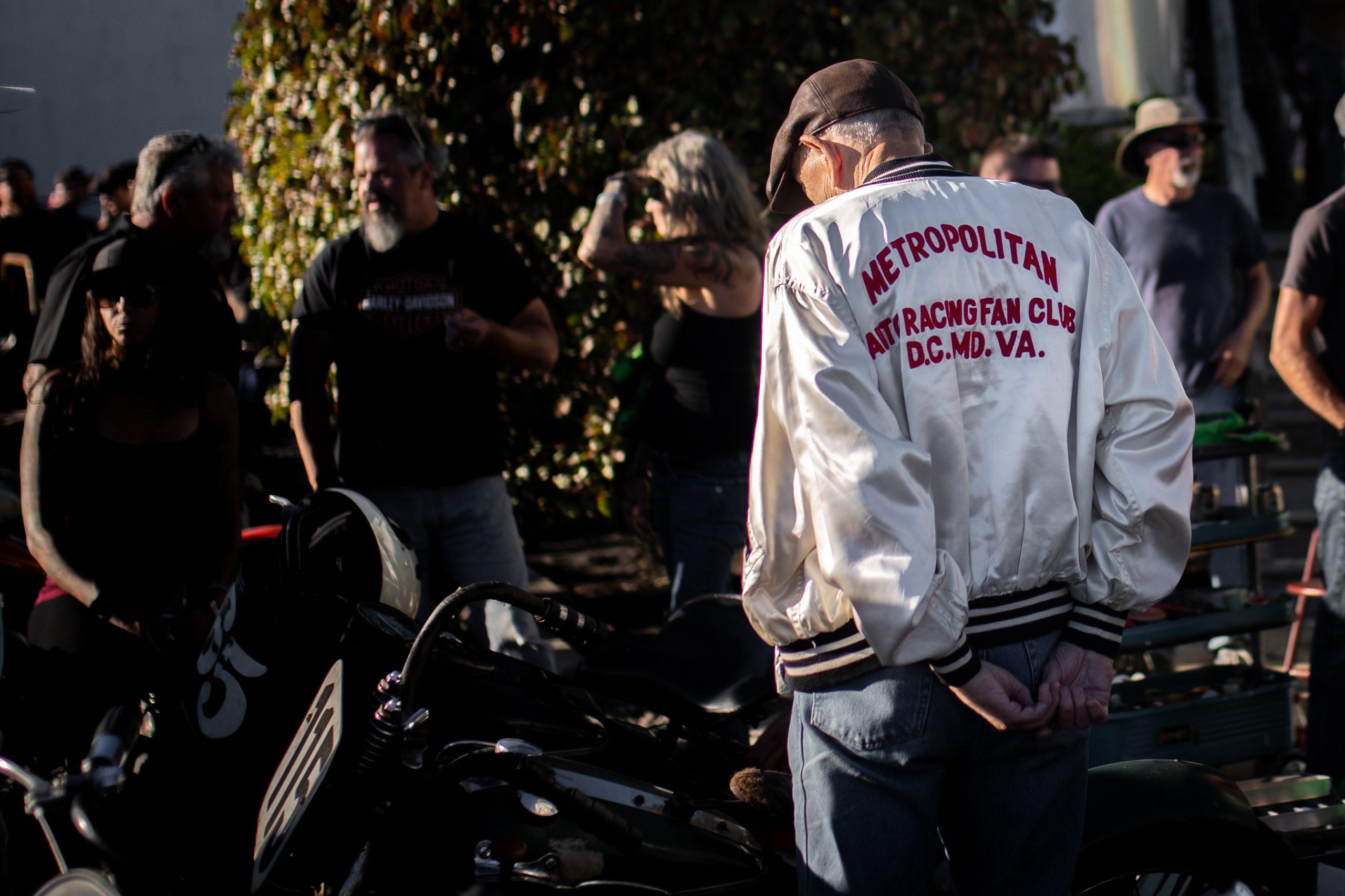racing fan club nylon jacket