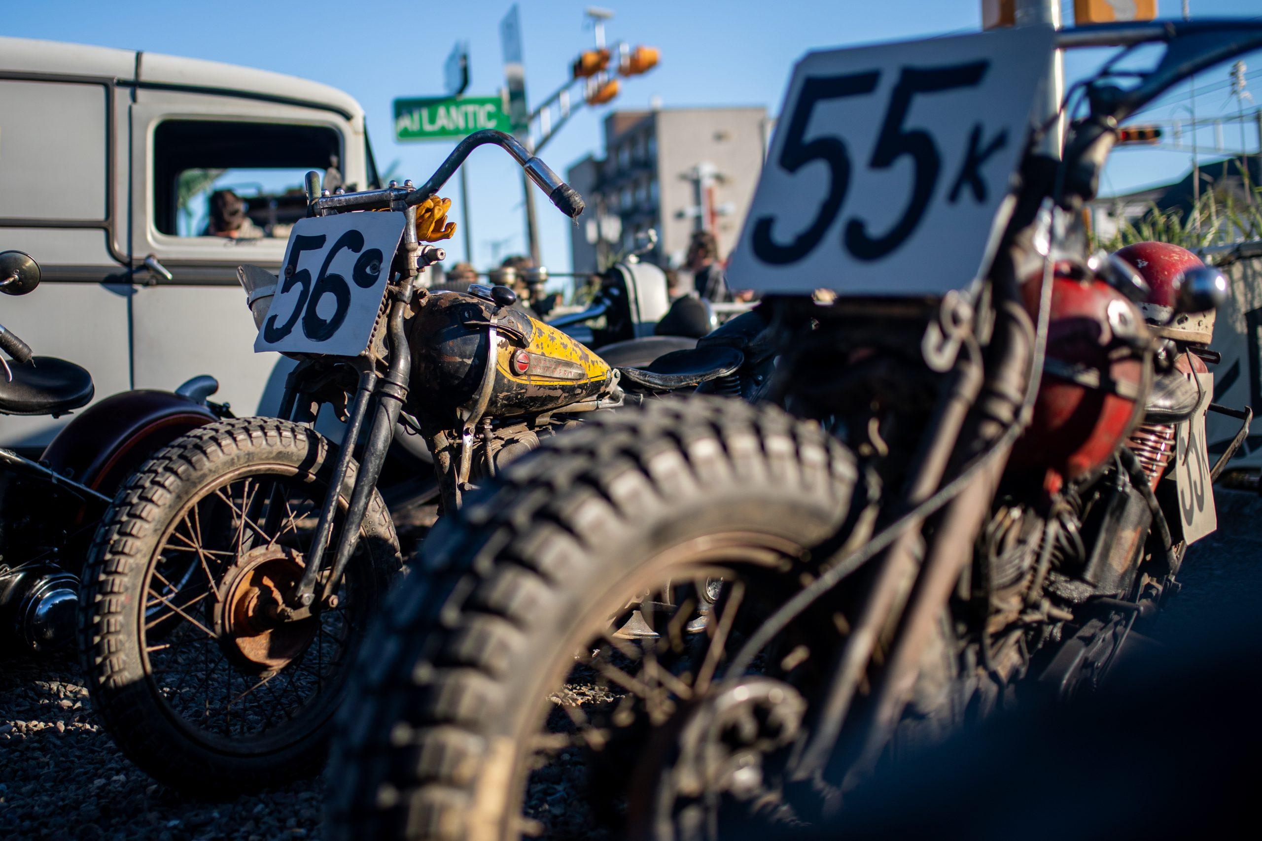motorbike street numbers