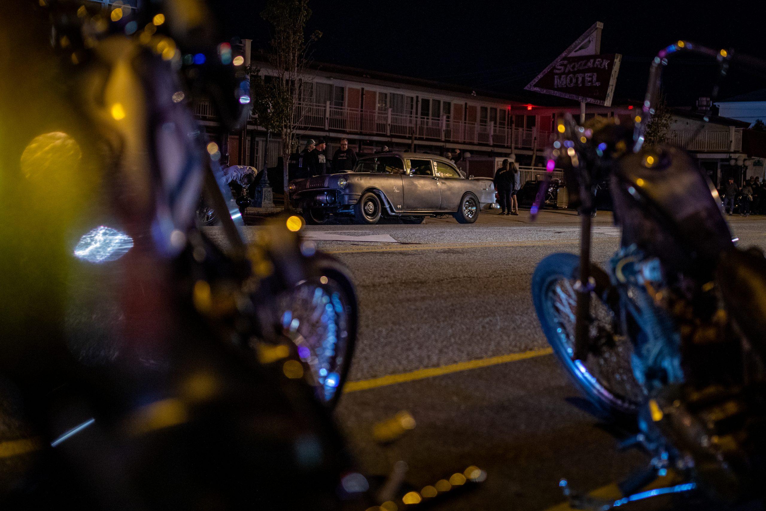 hot rod streets at night