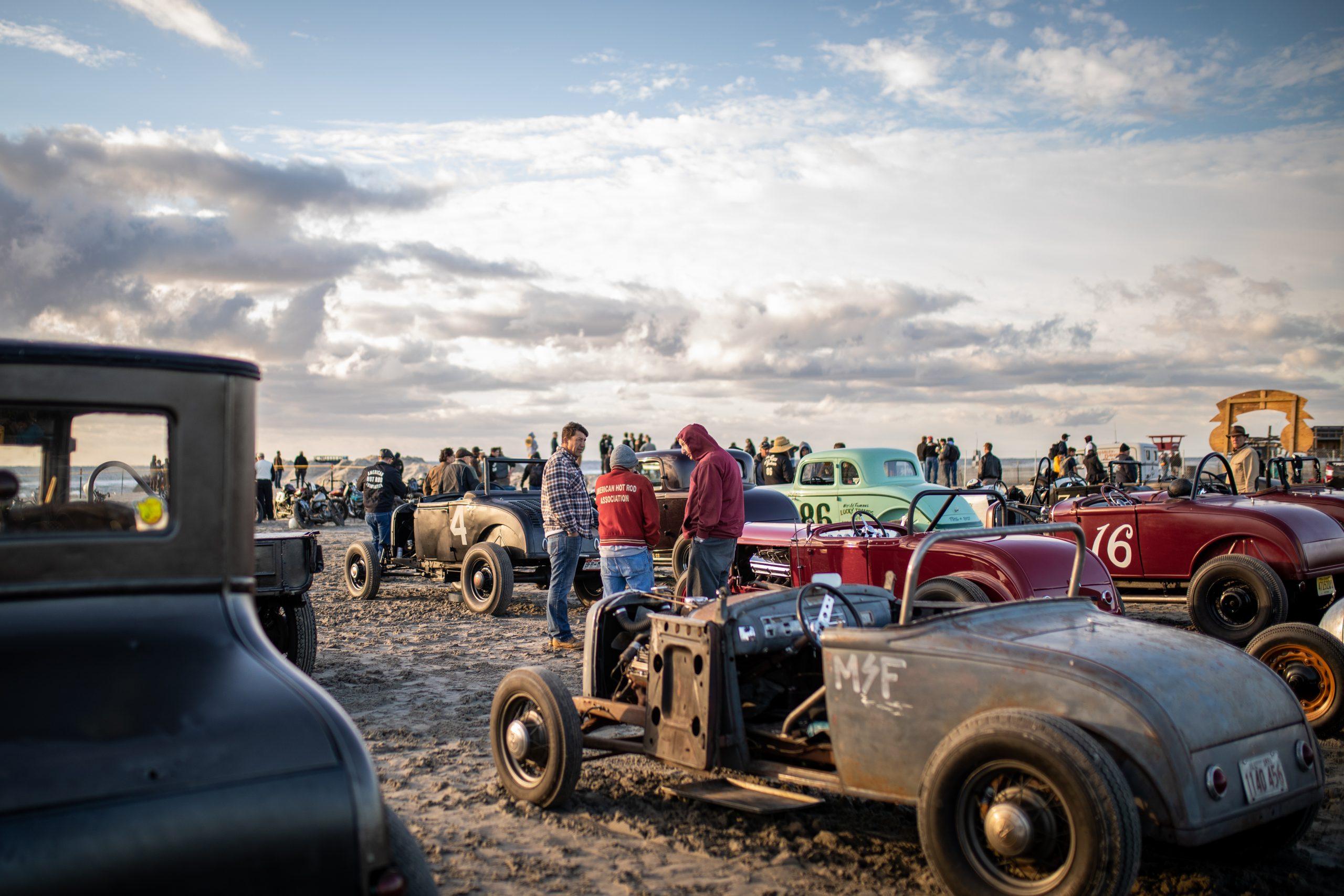 beach drag racing