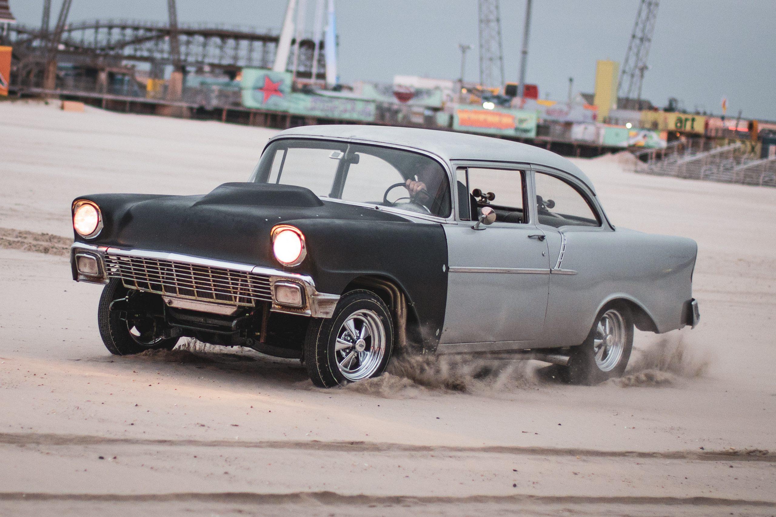beach drag racer