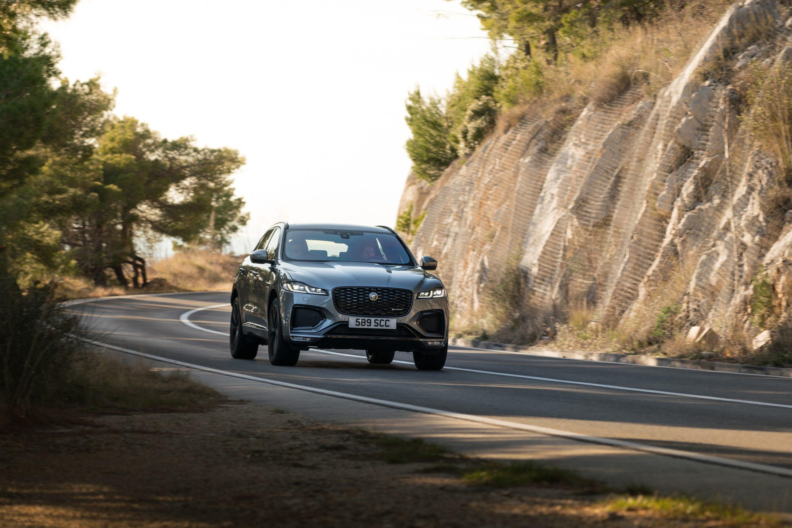 2021 Jaguar F-PACE exterior