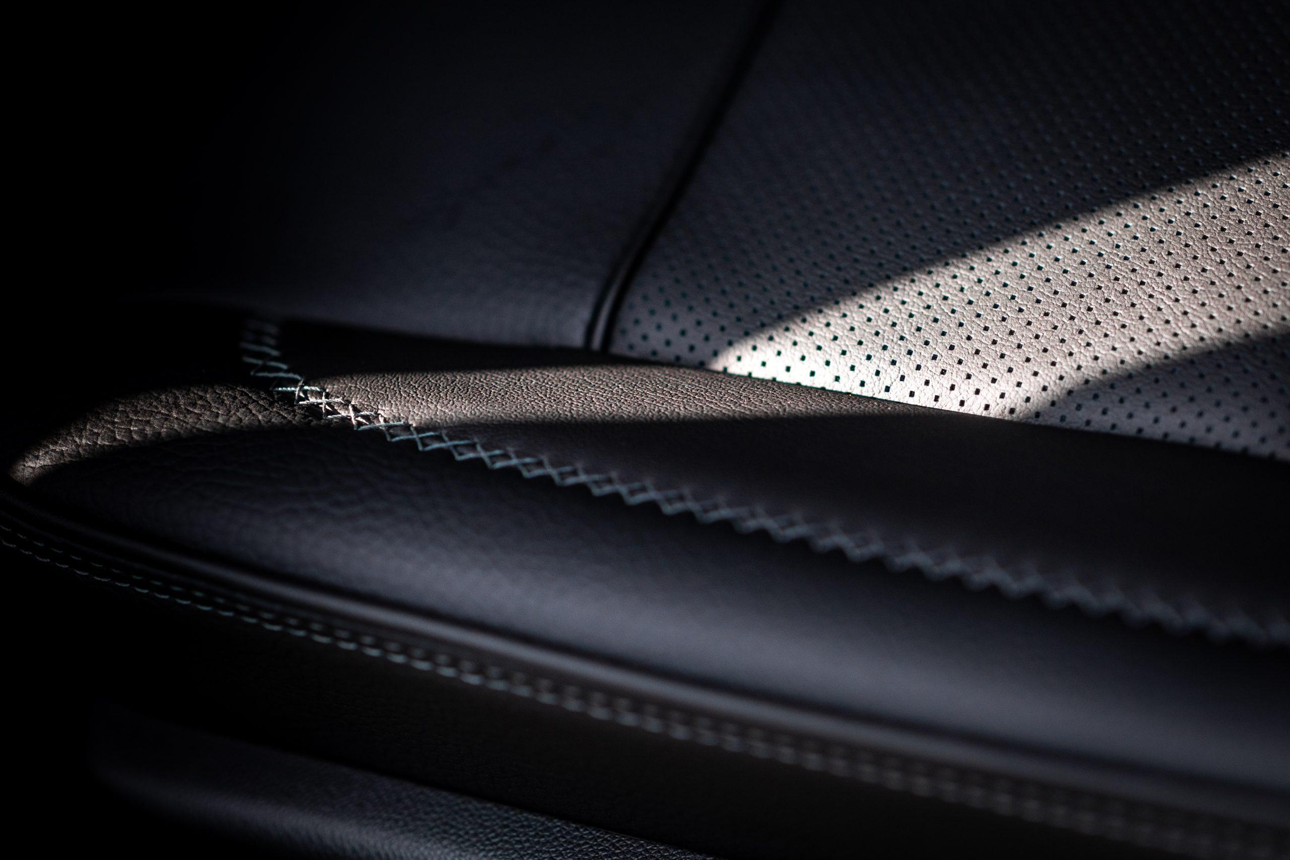 2021 Yukon Denali leather seat details