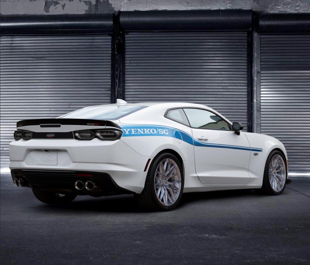 2021 Yenko Camaro rear