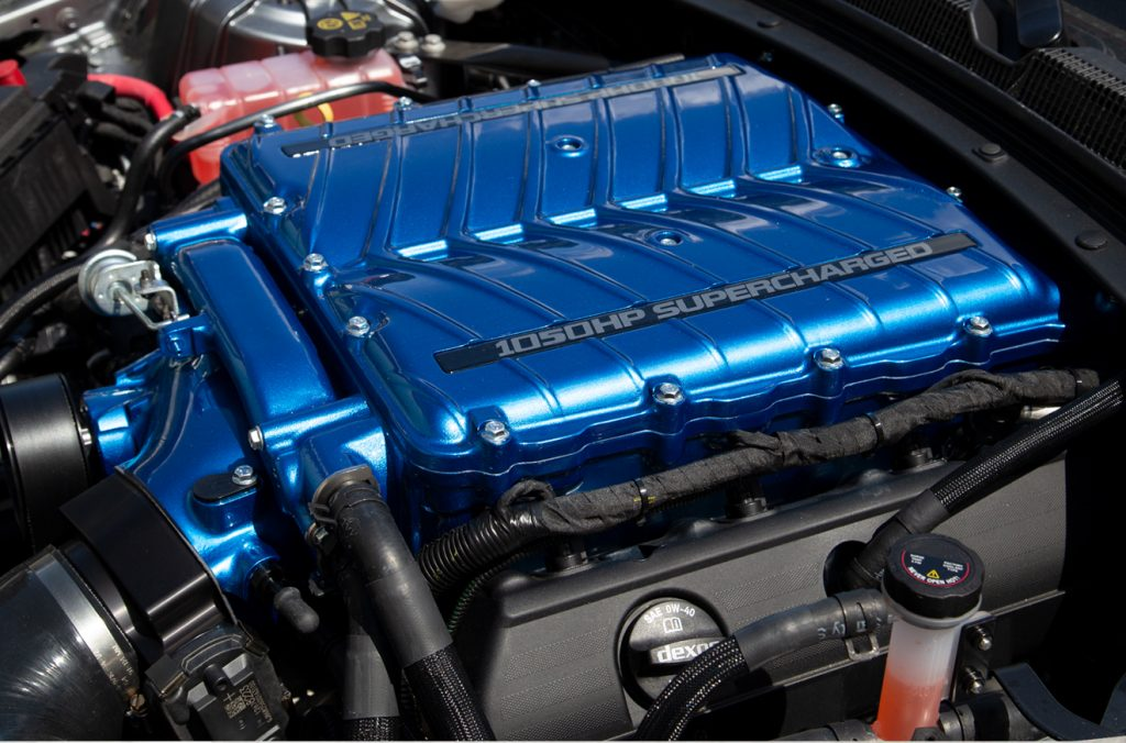 2021 Yenko Camaro engine SVE