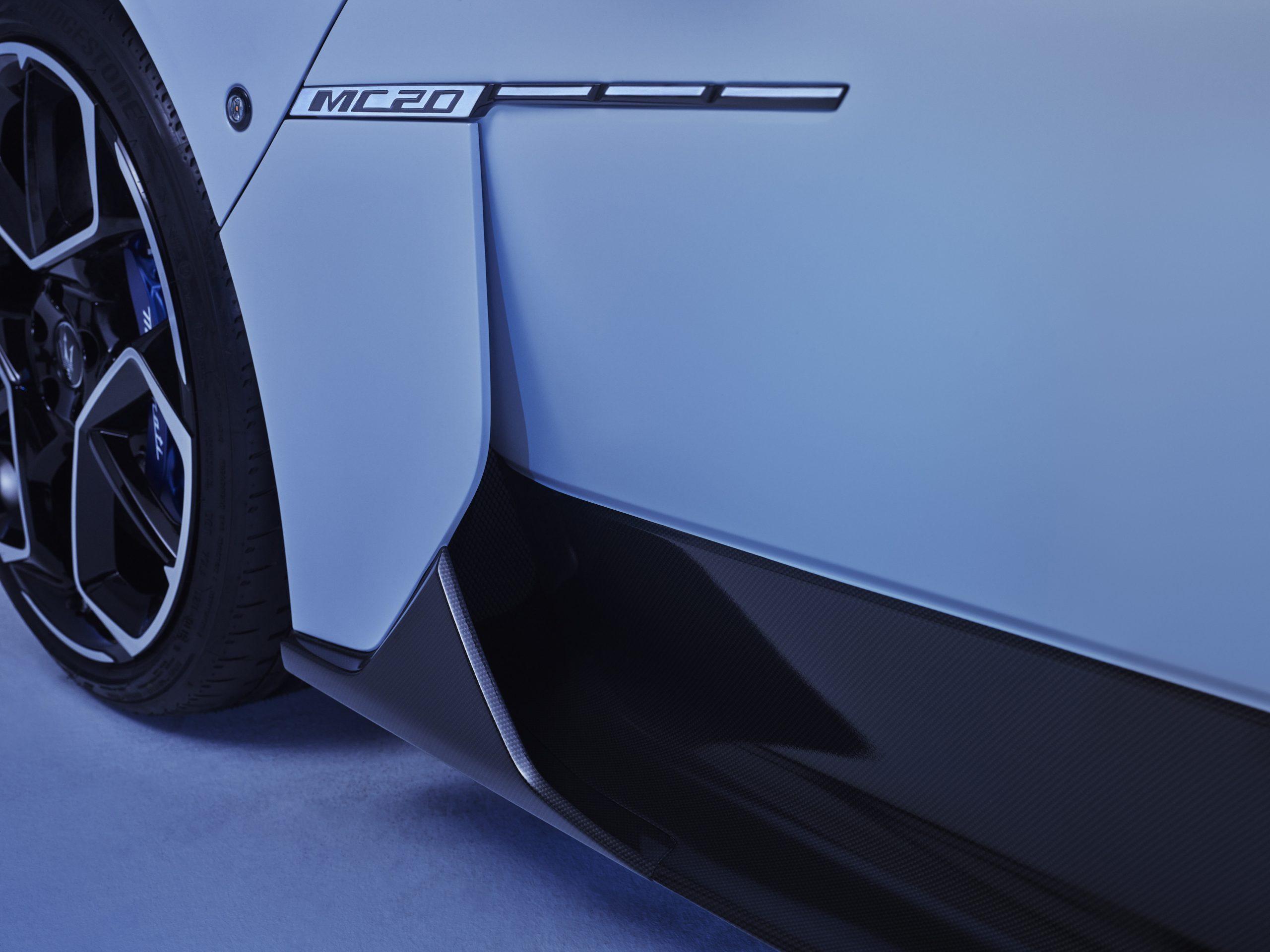 Maserati MC20 logo brake duct