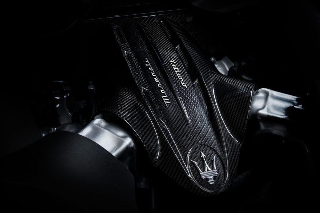 Maserati MC20 Nettuno V-6 engine