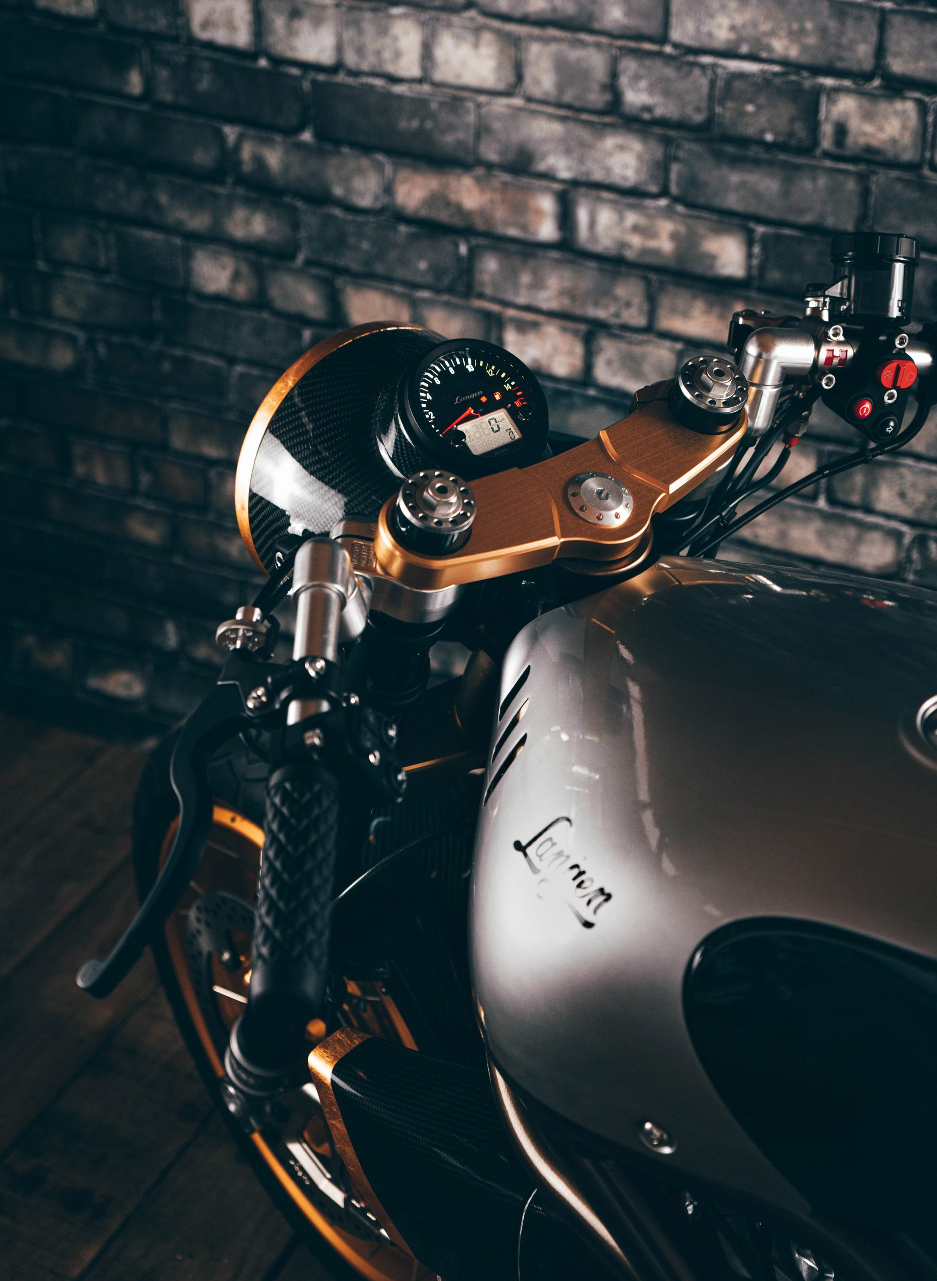 Langen Motorcycles Two Stroke front handling