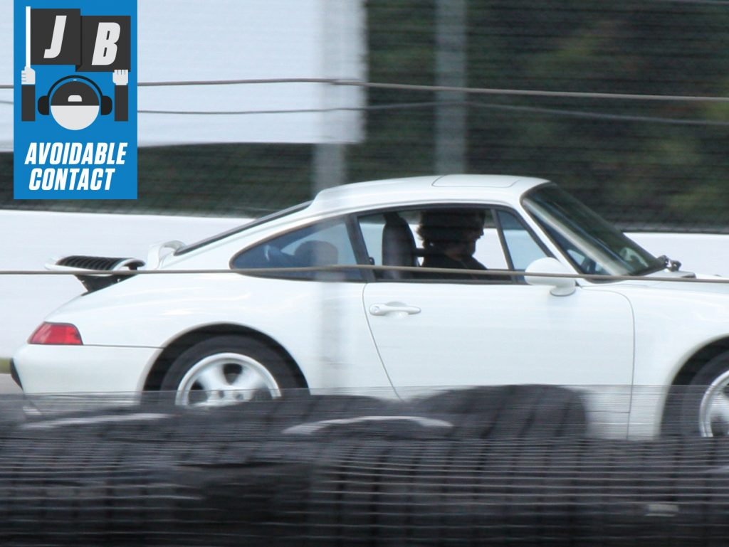 jack baruth driving infant son around mid ohio racetrack