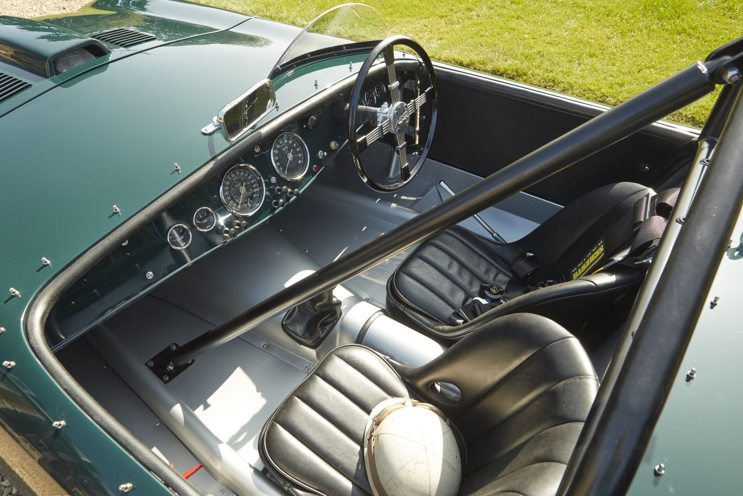 Allard Motor Company JR Continuation car cockpit