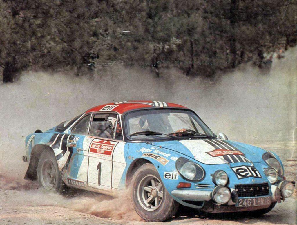 Alpine Renault Rally Car