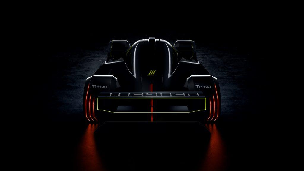 2022 Le Mans hypercar Peugeot entry