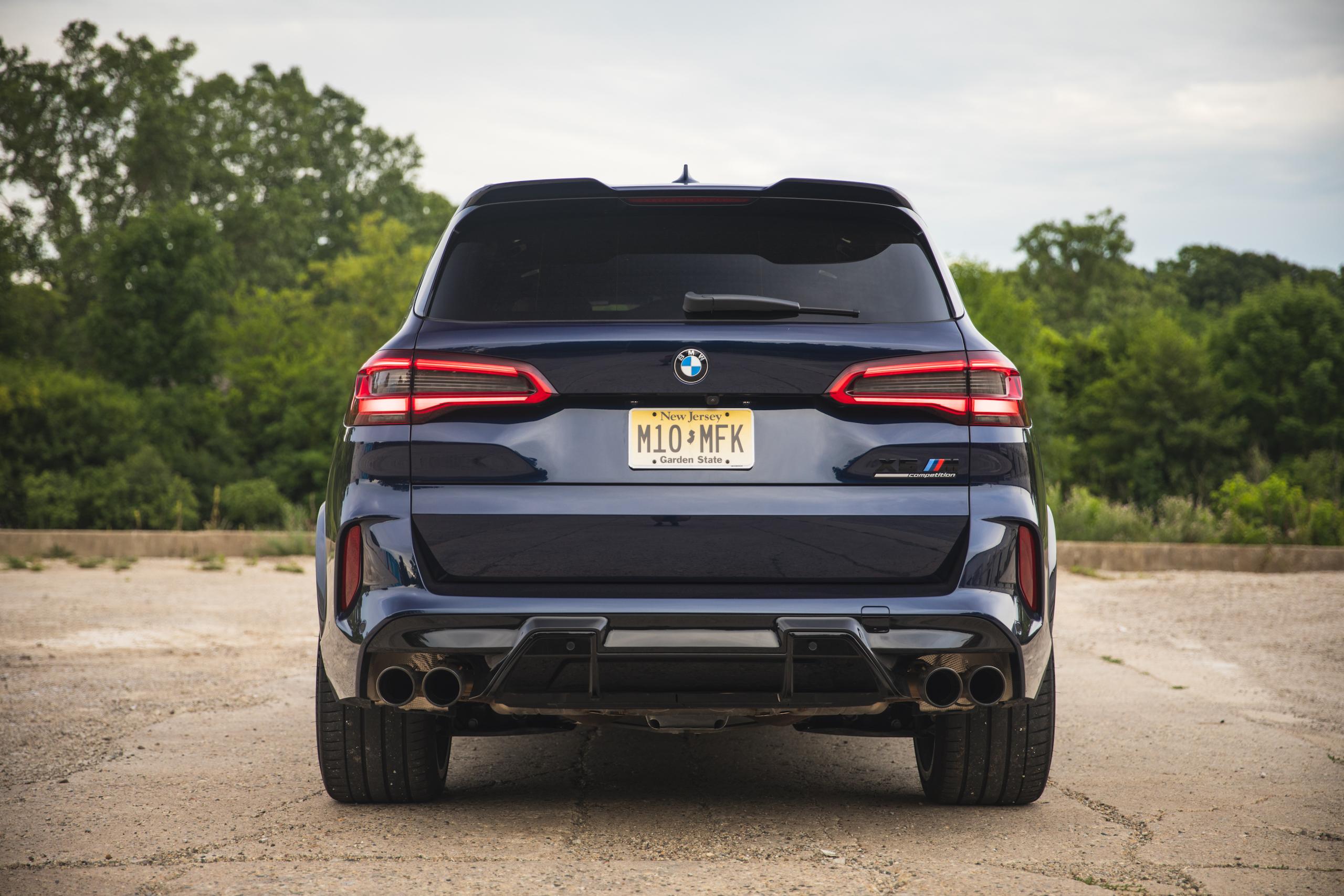 bmw x5m rear