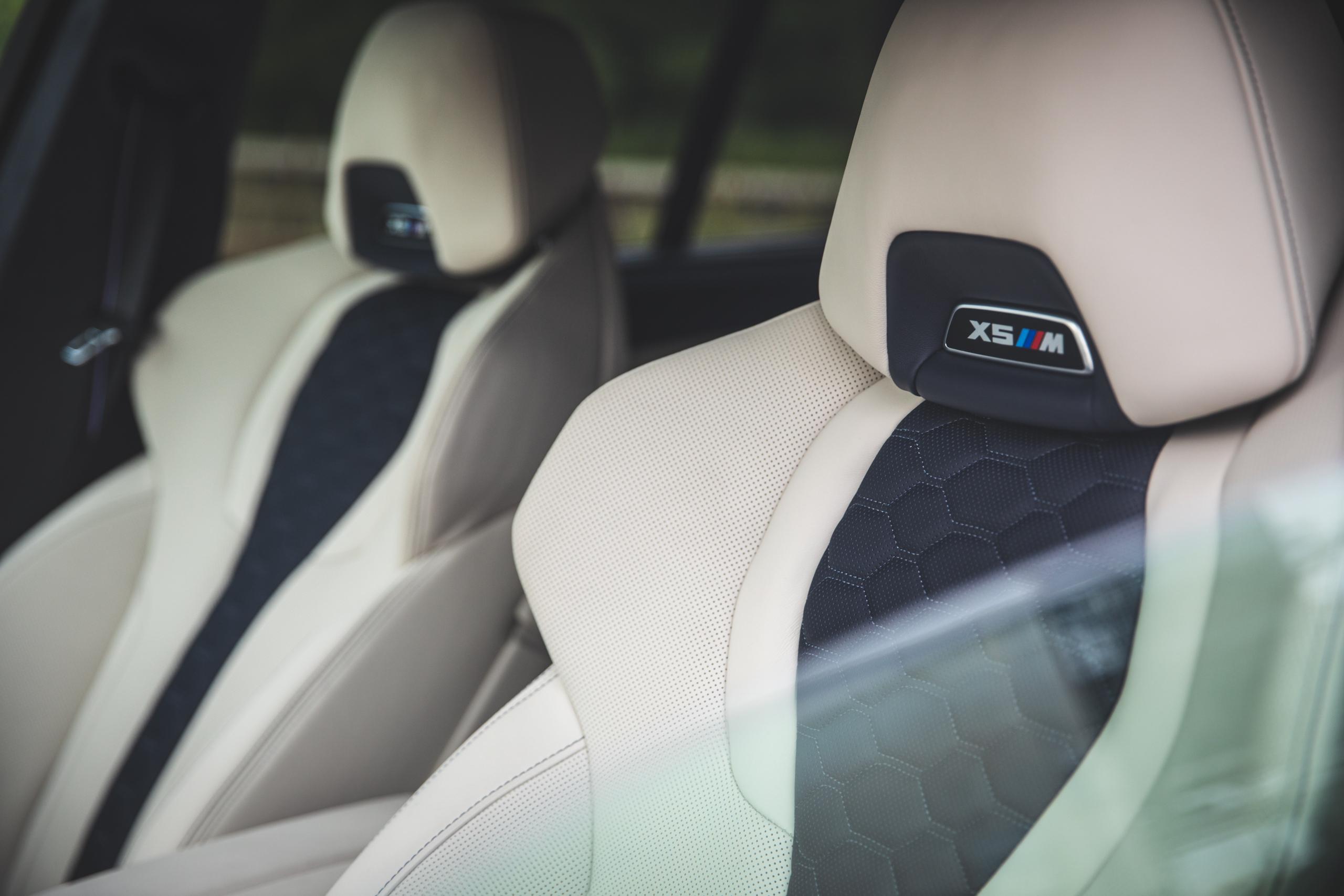 bmw x5m headrests