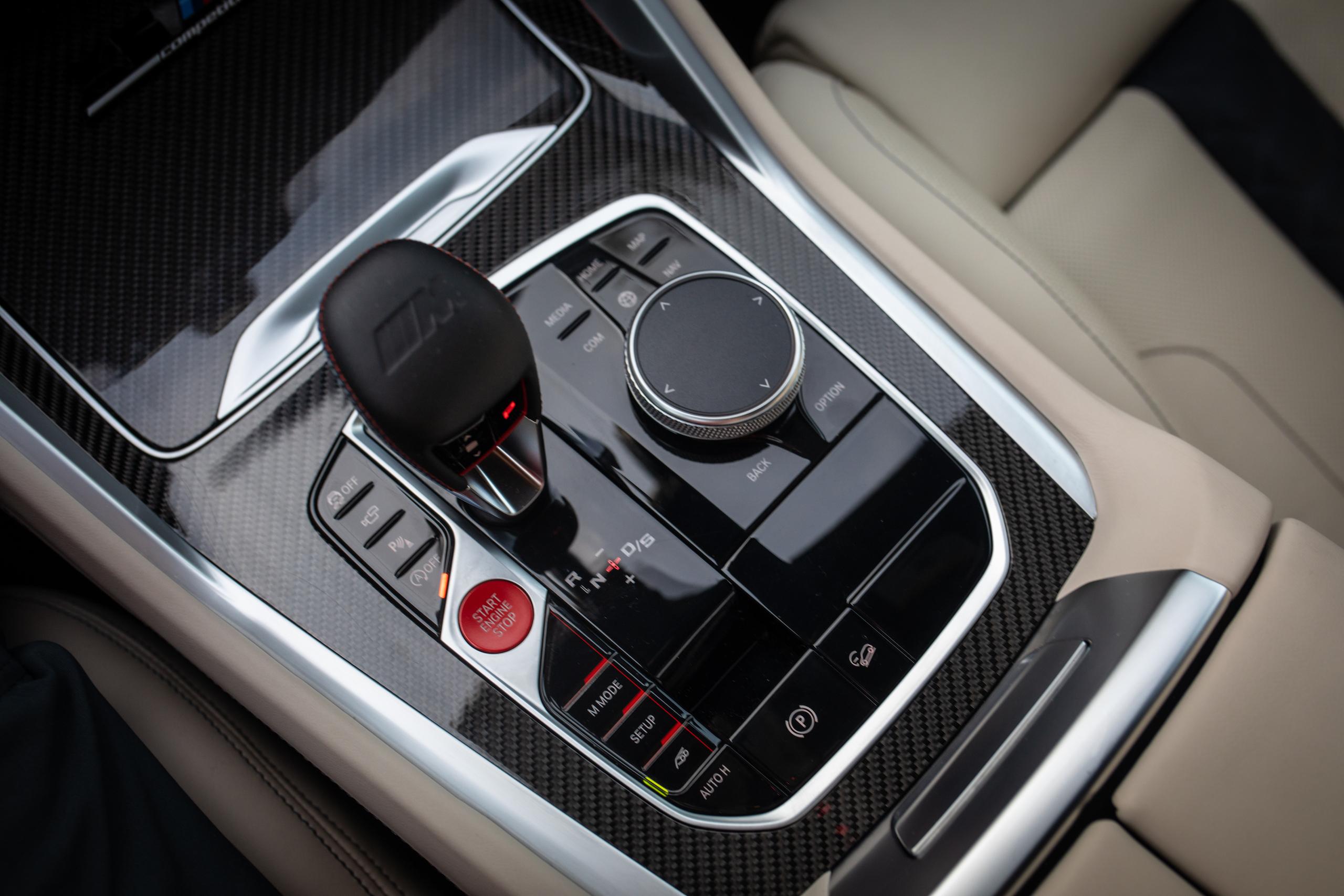 bmw x5m center console