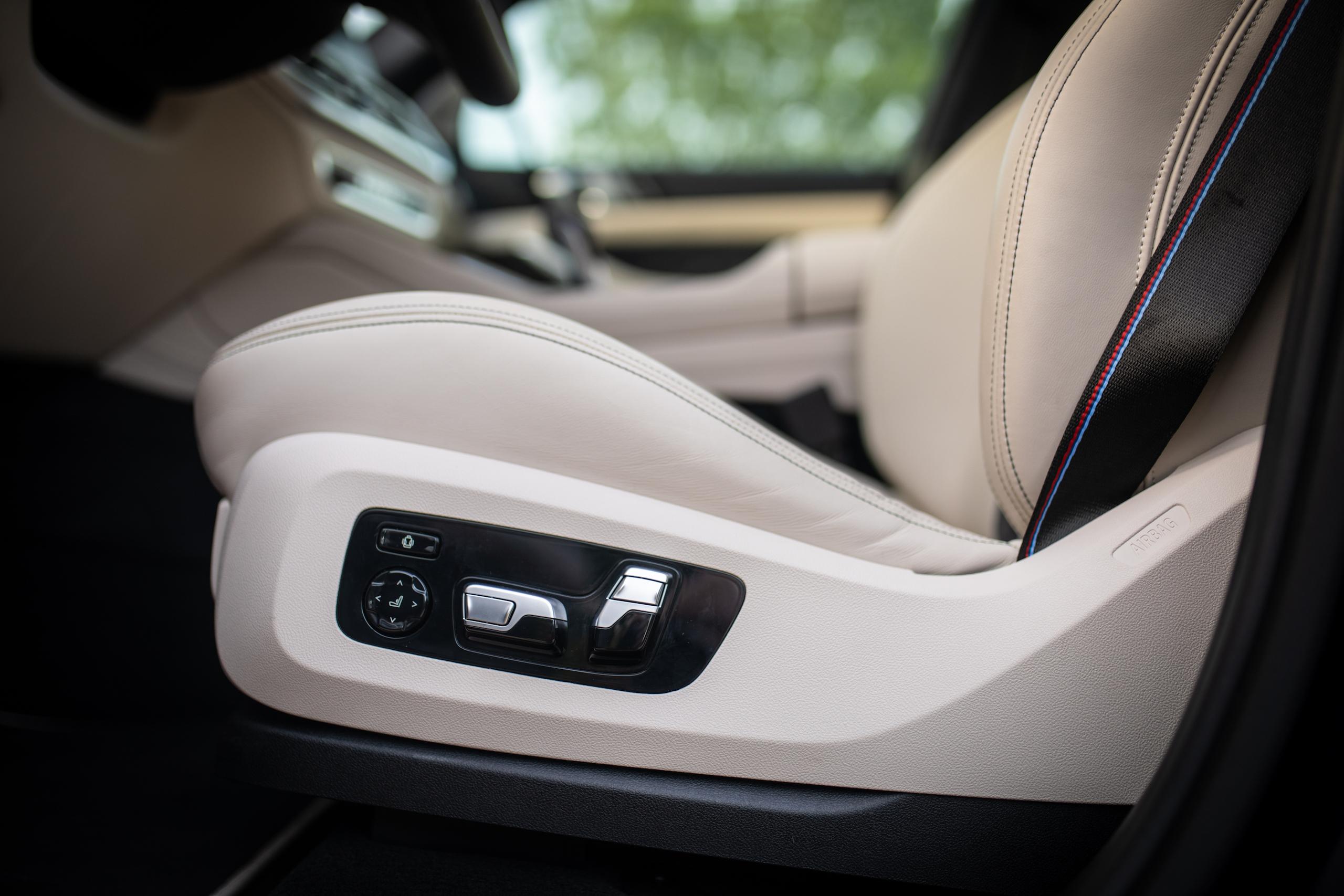 bmw x5m seat adjustment