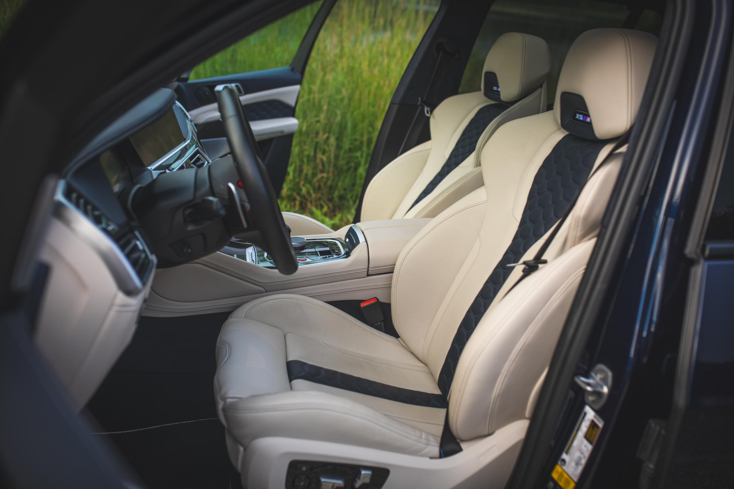 bmw x5m interior front seats