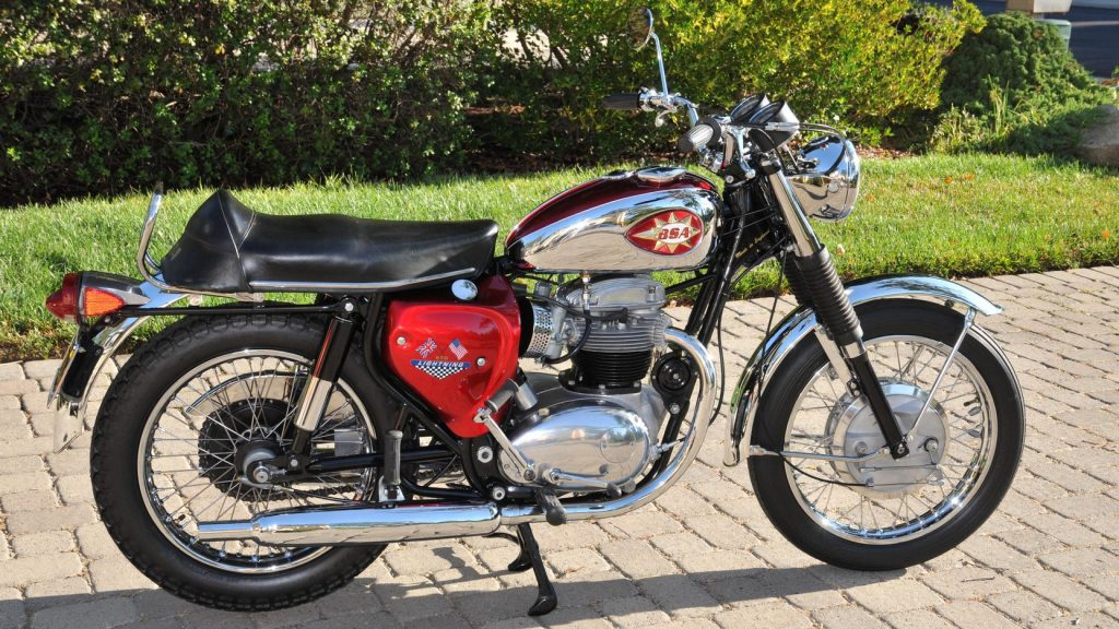 BSA Lightning side profile