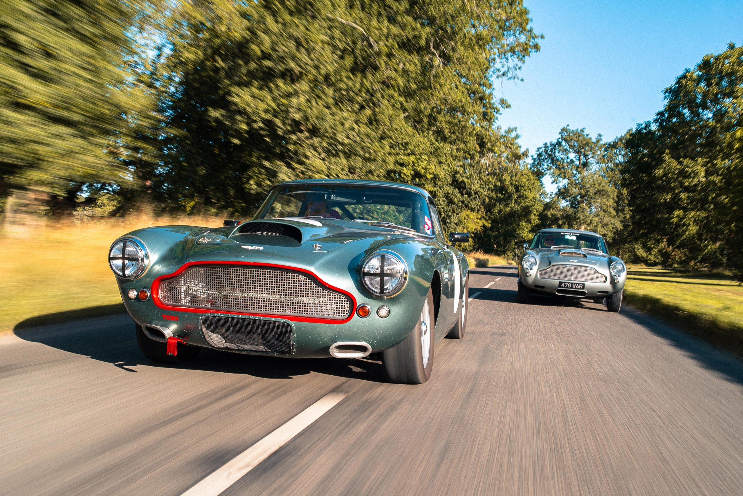 Bell Sport & Classic DB4 racer and road car