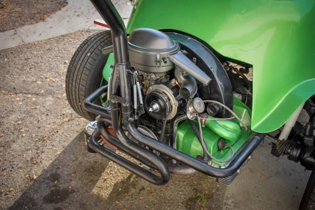 BaT VW-swapped Isetta engine