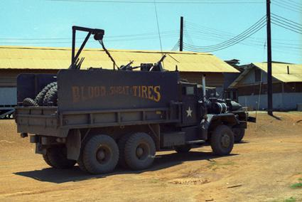vietnam gun truck blood sweat tires