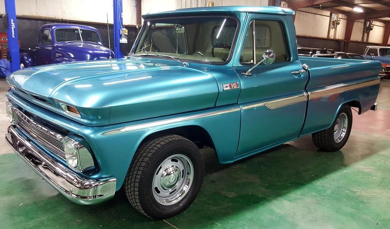 Buddy Allen Chevrolet - 1965 C10 - full drivers side front