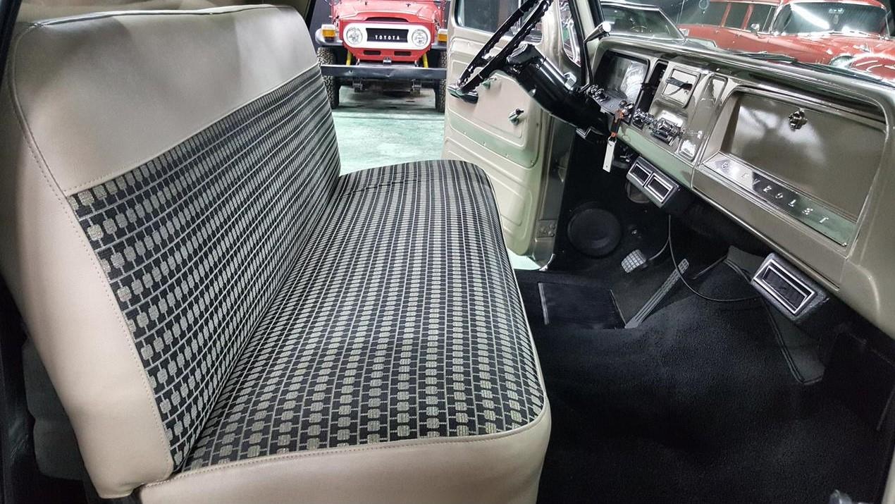 Buddy Allen Chevrolet - 1965 C10 - passenger side interior seat