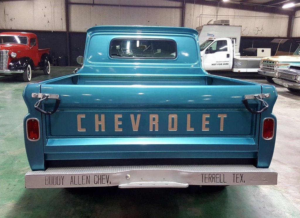 Buddy Allen Chevrolet - 1965 C10 - rear with BUDDY ALLEN bumper