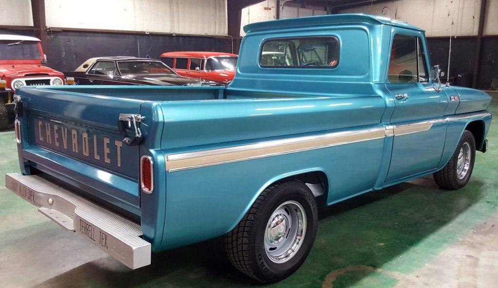 Buddy Allen Chevrolet - 1965 C10 - full passenger side from rear